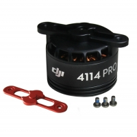 DJI Мотор 4114 (красный) 400Kv для S1000 (Part22 S1000-Premium 4114 Motor with red Prop cover)