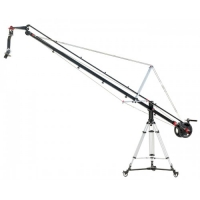 Комплект крана Proaim 12ft Wave Plus Jib Crane, 100mm Tripod Stand, Sr. Pan Tilt Head, D-77 Dolly