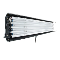 Kinoflo 6ft Mega 4Bank Fixture CFX-7204