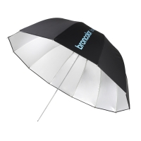 Зонт Broncolor Focus 110 umbrella silver/black Ø 110 cm (43.3