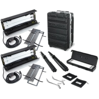 Комплект Kinoflo Diva-Lite 201 Kit, 230VAC (2-Unit) w/ Flight Case KIT-D22-230