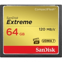 Sandisk Extreme CF 64Gb (120/85 Mb/s)
