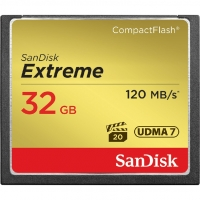 Sandisk Extreme CF 32Gb (120/85 Mb/s)