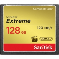 Sandisk Extreme CF 128Gb (120/85 Mb/s)