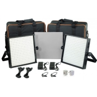 Комплект видеосвета LED Proaim 2x1000pc LED Daylight DMX