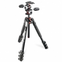 Штатив Manfrotto MK190XPRO4-3W 190 ALU 3 SECTION KIT 3W HEAD