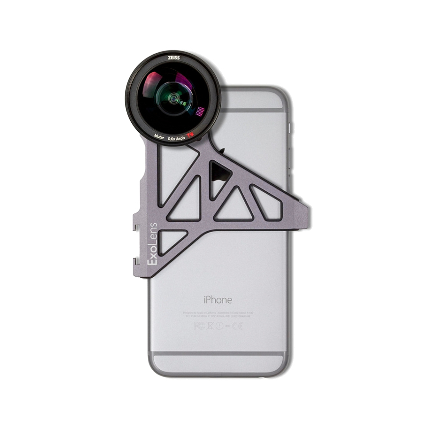 Carl Zeiss ExoLens с широкоугольным объективом ZEISS Mutar 0.6x Asph для iPhone 6/6s