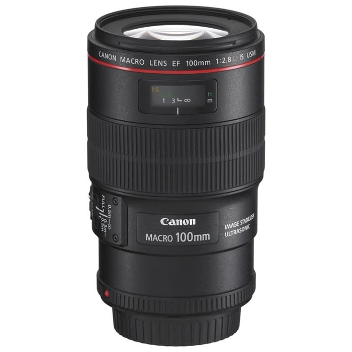 Объектив Canon EF 100 f/2.8L Macro IS USM