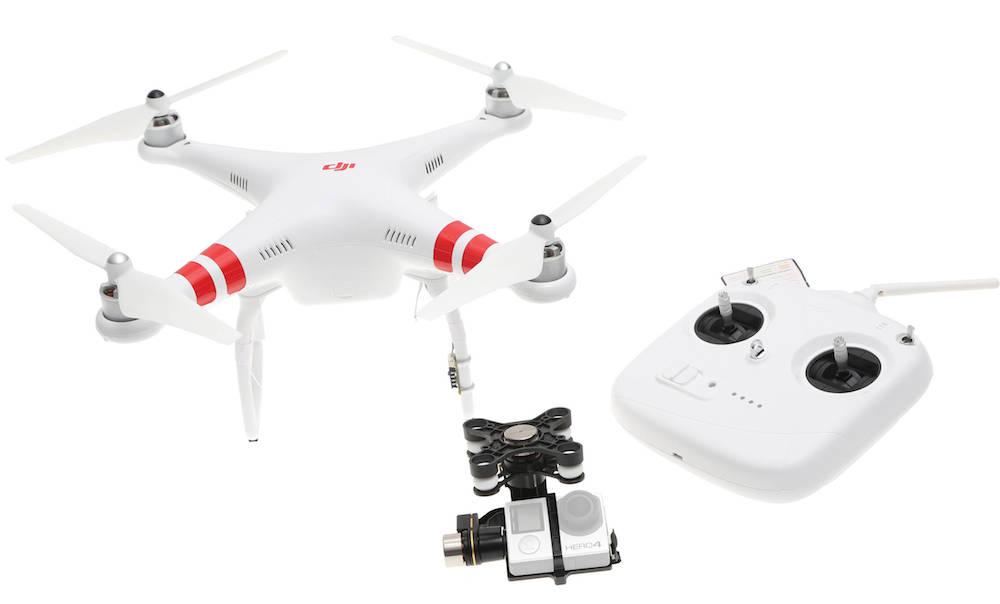 Квадрокоптер с 2 камерами игра в очках виртуальной реальности против зомби