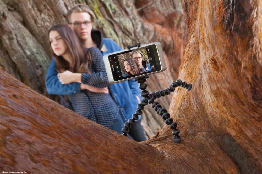 Как сфотографировать себя со штативом