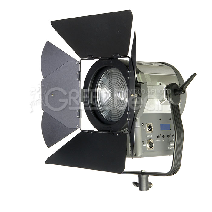 Светодиодный LED осветитель GreenBean Fresnel 200 LED X3 DMX
